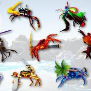 『カニノケンカ Fight Crab』のCrab Pulsar&Knight Crab ミュージックビデオが公開!パッチの配信も