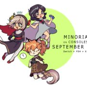 PS4&Xbox One&Switch版『Minoria』の配信日が2020年9月10日に決定!