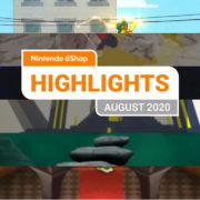 【欧州】『Nintendo eShopハイライト 2020年8月号』がNintendo of Europeから公開!