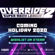 PS5&PS4&Xbox Series X&Xbox One&Switch&PC用ソフト『Override 2: Super Mech League』が海外向けとして2020年12月に発売決定!