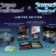 Switch&PC用ソフト『蒼き翼のシュバリエ + 新釈・剣の街の異邦人』が海外向けとして2021年に発売決定!