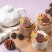 「スライム コーヒーシフォンカップケーキ ~きのみいろいろトッピング~」と「スライム ちぎりパン」作り方の手順をわかりやすく解説したレシピ動画が公開!