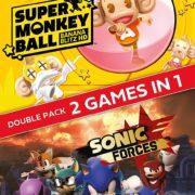 『たべごろ!スーパーモンキーボール』と『ソニックフォース』のダブルパックパッケージが海外向けとして発売決定!