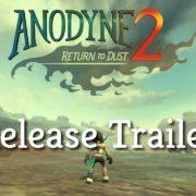 『アノダイン2: ダストへの帰還』が国内コンソール向けとして発売決定!