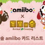 『どうぶつの森amiiboカード第4弾』の韓国での発売日が2020年9月17日に決定!