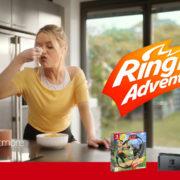『リングフィット アドベンチャー』の新しいCM「Laura Whitmore gets moving with Ring Fit Adventure!」が任天堂ヨーロッパから公開!