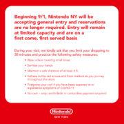 米国の任天堂公式ショップ「Nintendo NY」が2020年9月1日より一般営業を再開!