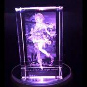 『ライザのアトリエ2』ファミ通DXパック 3Dクリスタルセットに付属する「3Dクリスタル ライザ」の実物サンプル紹介映像が公開!