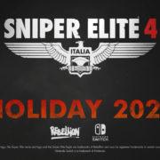Switch版『Sniper Elite 4』が2020年後半に国内発売決定!