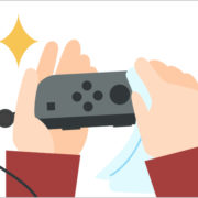 Nintendo Switchの消毒に関する情報が任天堂サポートサイトに掲載!
