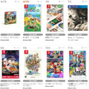 【TSUTAYA ゲームランキング】2020年8月31日~9月6日のランキングが公開!