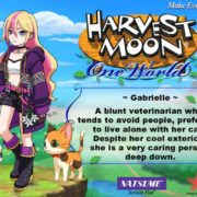 PS4&Switch用ソフト『Harvest Moon: One World』の結婚候補者「Gabrielle」のイラストが公開!