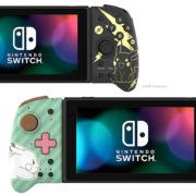 ホリからポケモンデザインの『グリップコントローラー for Nintendo Switch』が海外向けとして2020年10月に発売決定!