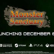 PS4&Xbox One&Switch&PCソフト『Monster Sanctuary』が海外向けとして12月8日に発売決定!