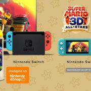 Switch用ソフト『スーパーマリオ 3Dコレクション』のCMがNintendoPLから公開!