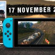 Switch版『Truck Driver』の海外発売日が2020年11月17日に決定!