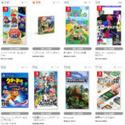 【TSUTAYA ゲームランキング】2020年10月5日~10月11日のランキングが公開!