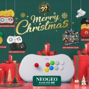 「NEOGEO Arcade Stick Pro」クリスマス限定セットの予約が開始!