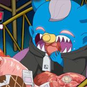 Switch用ソフト『タベオウジャ』の世界観ショートアニメ「Vol.6 食欲、ムゲン!食らいつくせ世界!」が公開!