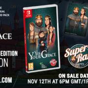『Yes, Your Grace』のSwitch向けパッケージ版がSuper Rare Gamesから海外発売決定!