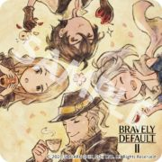 e-STOREでゲームソフト『ブレイブリーデフォルトII』を購入するともらえる「ブレイブリーシリーズ コースター&ランチョンマット」のイメージが公開!