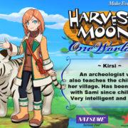 PS4&Switch用ソフト『Harvest Moon: One World』の結婚候補者「Kirsi」のイラストが公開!