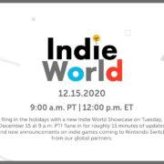 インディーゲームを紹介する番組「Indie World Showcase 12.15.2020」が海外向けとして12月16日に放送決定!日本では12月16日 午前10時頃から放送