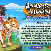 PS4&Switch用ソフト『Harvest Moon: One World』の結婚候補者「Ahina」のイラストが公開!