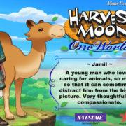 PS4&Switch用ソフト『Harvest Moon: One World』の結婚候補者「Jamil」のイラストが公開!