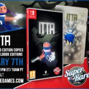 『ITTA』のSwitch向けパッケージ版がSuper Rare Gamesから海外発売決定!