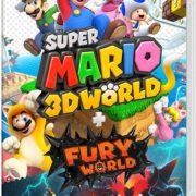 Switchソフト『スーパーマリオ 3Dワールド + フューリーワールド』の新たなボックスアートが公開!