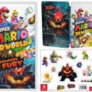 Switchソフト『スーパーマリオ 3Dワールド + フューリーワールド』の予約受付がNintendo UKストアで開始!特典は「SteelBook」と「ステッカーセット」
