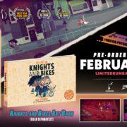 Switch版『Knights and Bikes』のパッケージ版が海外向けとしてLimited Run Gamesから発売決定!