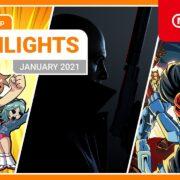 【欧州】『Nintendo eShopハイライト 2021年1月号』がNintendo of Europeから公開!