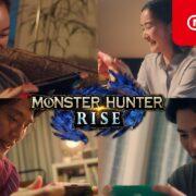 Nintendo Switch CM『モンスターハンターライズ』が公開!