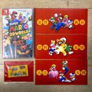 Switchソフト『スーパーマリオ 3Dワールド + フューリーワールド』中文版の予約購入特典の実物画像が公開!