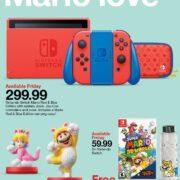 米国の小売店Targetが『スーパーマリオ 3Dワールド + フューリーワールド』の予約購入特典を発表!