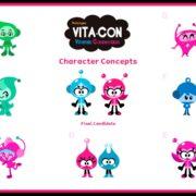 『ビタミンコネクション』の発売1周年を記念して開発途中に描かれたキャラクターたちのコンセプトアートが公開!