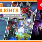 【欧州】『Nintendo eShopハイライト 2021年2月号』がNintendo of Europeから公開!