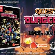 Switch版『Quest of Dungeons』のパッケージ版がアジア向けとして2021年4月13日に発売決定!