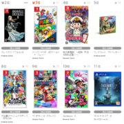【TSUTAYA ゲームランキング】2021年2月22日~2月28日のランキングが公開!