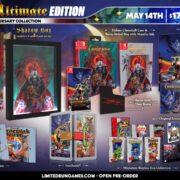 PS4&Switch版『Castlevania: Anniversary Collection』のパッケージ版が海外向けとしてLimited Run Gamesから発売決定!