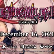 PS4&Xbox&Switch用ソフト『デススマイルズ I・II』の発売日が2021年12月16日に決定!