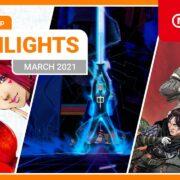 【欧州】『Nintendo eShopハイライト 2021年3月号』がNintendo of Europeから公開!
