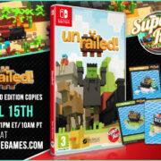 『Unrailed!』のSwitch向けパッケージ版がSuper Rare Gamesから海外発売決定!