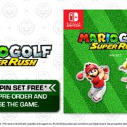 Switch用ソフト『マリオゴルフ スーパーラッシュ』の海外特典が公開!