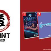 1Print Gamesが『Neo Cab』と『Eternal Radiance』と『Paradise Killer』のSwitch向けパッケージ版を発売することをアナウンス!