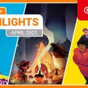【欧州】『Nintendo eShopハイライト 2021年4月号』がNintendo of Europeから公開!
