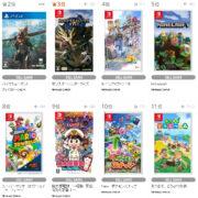 【TSUTAYA ゲームランキング】2021年5月24日~5月30日のランキングが公開!