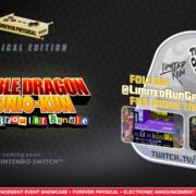 Switch版『Double Dragon & Kunio-kun Retro Brawler Bundle』のパッケージ版が海外向けとして発売決定!